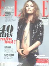 N° 3514 VANESSA PARADIS FOREVER KATE MOSS PUB H & M BEYONCé MAGAZINE ELLE 2013
