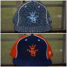 New Era King of New York City Fitted Hat 7 7/8 Blue Orange Cap Yankees