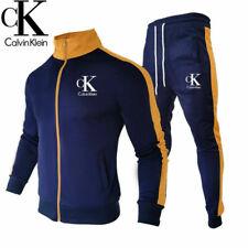 Herren Damen 2PCS Jogging Anzug Sweatshirt Hosen Trainingsanzug Sportanzug neu