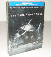 The Dark Knight Rises [SteelBook Blu-ray + DVD + ULTRAVIOLET]   ***NEW SEALED***