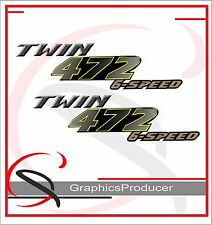 Yamaha Banshee Decals 472 Twin Reproduction Two Set Stickers  Custom Design