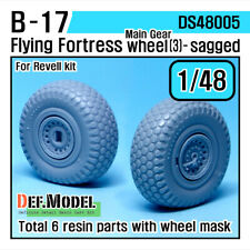 DEF.MODEL, DS48005, B-17 Flying Fortress Wheel set 3 (for Revell 1/48) ,1/48
