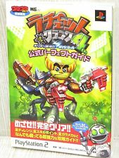 RATCHET & CLANK 4 4th Official Guide w/Papercraft PS2 Book SG33*