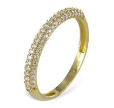 ECHT GOLD *** Zirkonia Ring, Größenauswahl