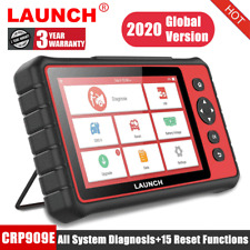LAUNCH X431 CRP909E Auto OBD2 Scanner Check All System Car Diagnostic Scan Tool