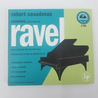 The Complete Piano Music Of Maurice Ravel Robert Casadesus 2 CD Sony Classical