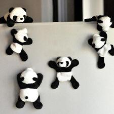 Cute Soft Plush Panda Fridge Magnet Refrigerator Sticker Souvenir Home Decor