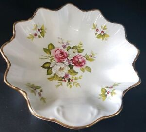 Old Foley James Kent dish in harmony rose