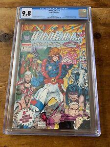 WildC.A.T.S. #1 CGC 9.8 Jim Lee Image 1992 1st app. WildC.A.T.S. & Grifter NM