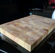 Kitchen chef solid wood proffesional heavy duty butchers chopping board block
