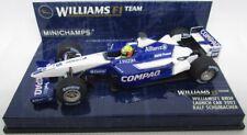 F1 1/43 WILLIAMS FW24 BMW R. SCHUMACHER LAUNCH CAR 2002 MINICHAMPS
