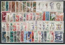 FRANCOBOLLI 1957/60 JUGOSLAVIA LOTTO VALORI NUOVI E USATI (MLH) Z/1920