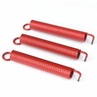 Floyd Rose FRTSNRDP Heavy Duty Tension Noiseless Tremolo Springs, Red - Set of 3