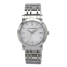 100% Authentic Burberry Men's BU1350 Heritage Silver Dial Bracelet Watch