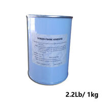 Screen Frame Adhesive Screen Printing DIY Stretch Frame Consumable 1 Bottle 2 lb