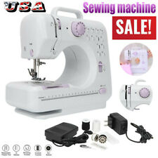 12 Floral Stitches Household Hand-held Tailor Electric Sewing Machine US STOCK!
