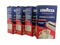 4pk - Lavazza Crema e Gusto Ground Coffee Blend Espresso Dark Roast 8.8oz 250g