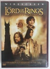 Lord of the Rings: The Two Towers Widescreen 2 Disc Dvd Lotr Frodo Hobbit Ring
