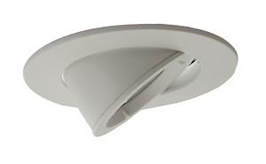 Large GU10 Scoop Tilt Directional Recessed Ceiling Led Spotlight Downlights