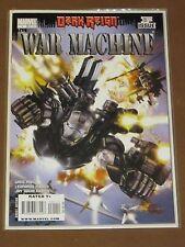 WAR MACHINE #1 NM DARK REIGN GREG PAK 2008 JIM RHODES AVENGERS INITIATIVE