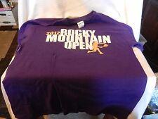 Men's Rocky Mountain Tennis Open 2012 Purple T-shirt Medium