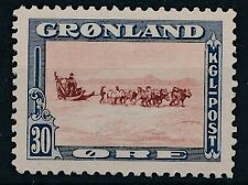 [645] Greenland good old stamp very fine MH