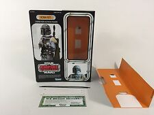 "Custom Star Wars El Imperio Contraataca 12"" Insertos + Caja Boba Fett"