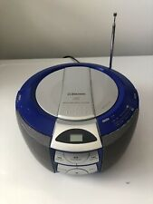 Emerson Radio/CD Player Model PD5202BL Of 2005 Blue Tested Works