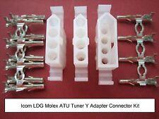 ICOM LDG Molex Heavy Duty Tuner Y Cable Connector Kit Automatic Antenna ATU Plug