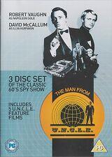 THE MAN FROM U.N.C.L.E. - 5 Films. Robert Vaughn, David McCallum (3xDVD BOX SET