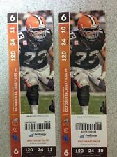 2013 DETROIT LIONS VS CLEVELAND BROWNS TICKET STUB 10/13/13 CALVIN JOHNSON