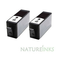 2 BLACK ink cartridges alternative to HP CN684EE HP364 HP364XL with CHIPSET