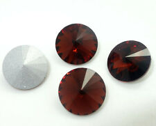 5PCS XILION #1122 ELEMENTS Crystal Rivoli Beads 18mm  Variety of colors
