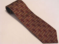 MATRIX - Mens Burgundy Neck Tie Excellent Preowned Condition