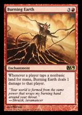 Burning Earth - Magic 2014 / M14 x1 Near Mint Magic The Gathering