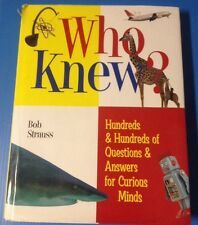 WHAT HOW AND WHY : More Than 1,000 Questions and Answers for Curious Minds book