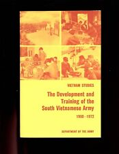 DEVELOPMENT & TRAINING OF  SOUTH VIETNAMESE ARMY,  Vietnam studies GPO 1st ,SBVG