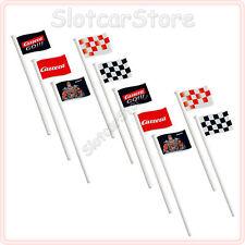 Carrera GO 61650 Flaggen (10 Stück) Dekoration 1:43 auch Digital143 Schienen