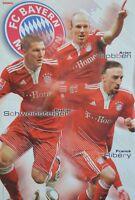 FC BAYERN MÜNCHEN - A3 Poster (42 x 28 cm) - Arjen Robben Franck Ribery Clipping