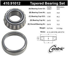Wheel Bearing and Race Set-Premium Bearings Centric 410.91012