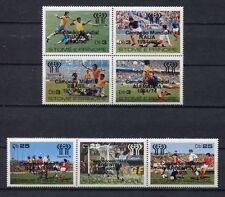 s5441) S.TOME E PRINCIPE 1978 MNH** WC Football - CM Calcio 7v OVPTD WINNERS