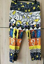 🌟MARINA RINALDI Stretch COTTON Trousers PLUS size MR 23_USA 14W_ IT52_ D44_GB18