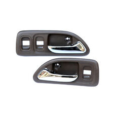 For 94-97 Honda Accord Front Left Right Inside Interior Door Handle Brown