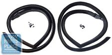 68-69 GM F Body Roofrail Weatherstrips - Latex Style - Pair - 7719482 & 7719483