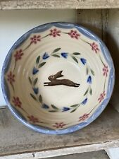 Bell Pottery Spongeware Small Bowl