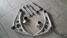 BMW 3 SERIES E46  98-05  2 FRONT LOWER WISHBONE  2 BUSHES 2 LINKS 2 TRACK ENDS