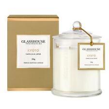 Glasshouse Candle 350g - Kyoto: Camellia & Lotus