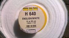 Vilene iron on volume fleece h640 wadding 5 metre piece