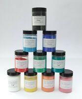 Hochwertige Künstlerpigmente 10er Set Farbpigmente 10 x 100 gr. tolle Farben