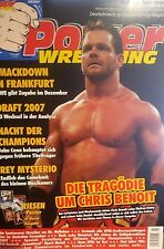 Power Wrestling 8/2007 WWE WWF WCW + 4 Poster (Candice, Nitro, GAB 07, Tour 07)